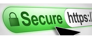ilustrácia ssl bezpečnostného certifikátu v prehliadači
